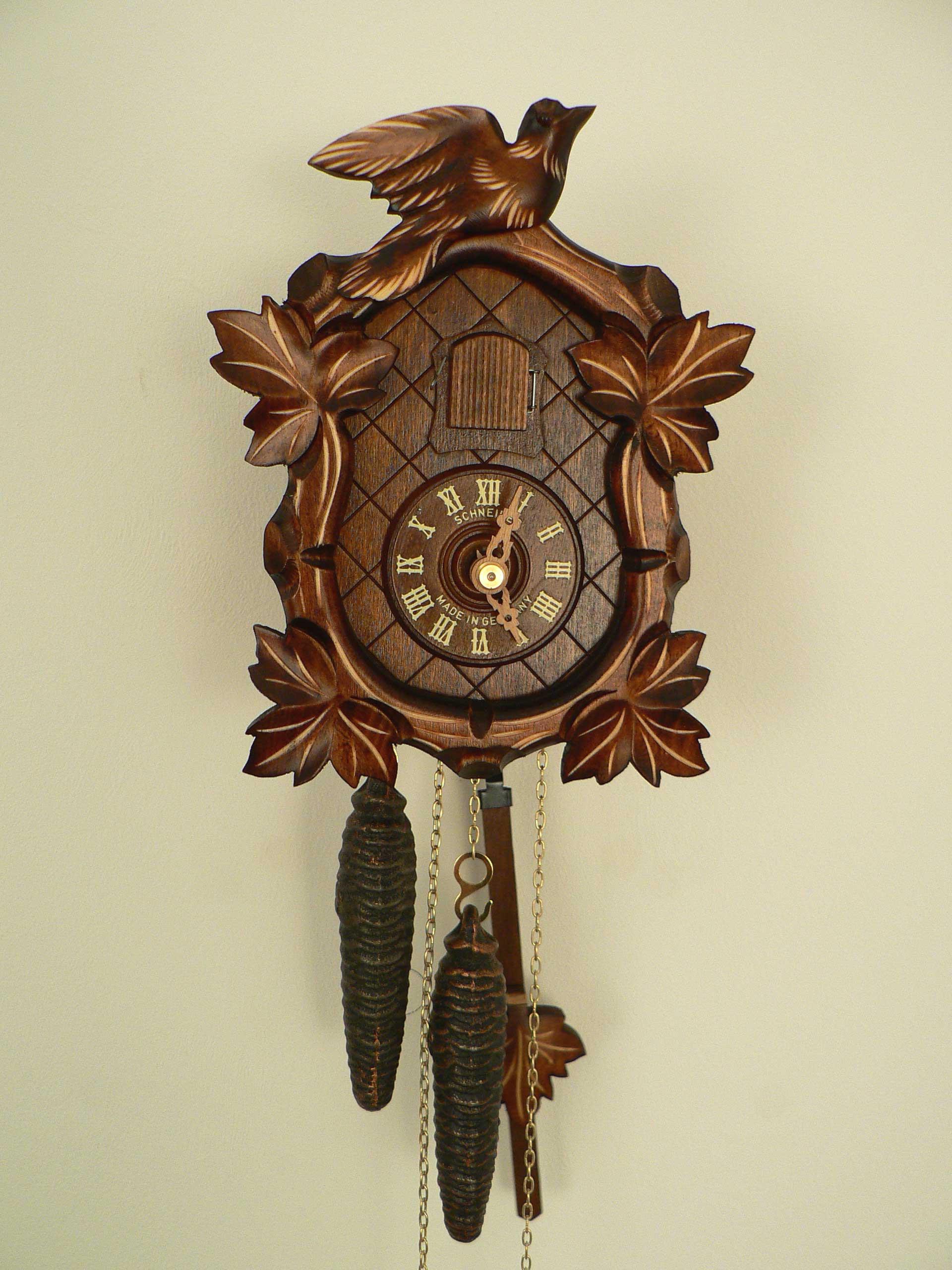 anton schneider cuckoo clock instructions